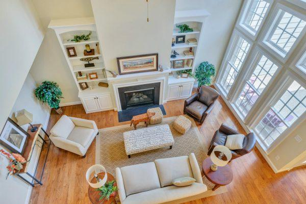 Living Area featured in The Village Home A By Craig Builders in Charlottesville, VA