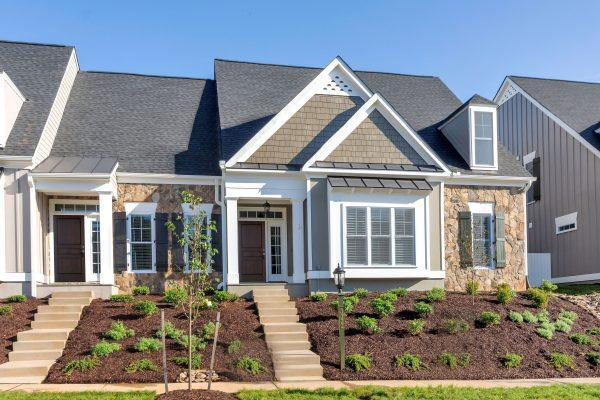Exterior featured in The Village Home A By Craig Builders in Charlottesville, VA