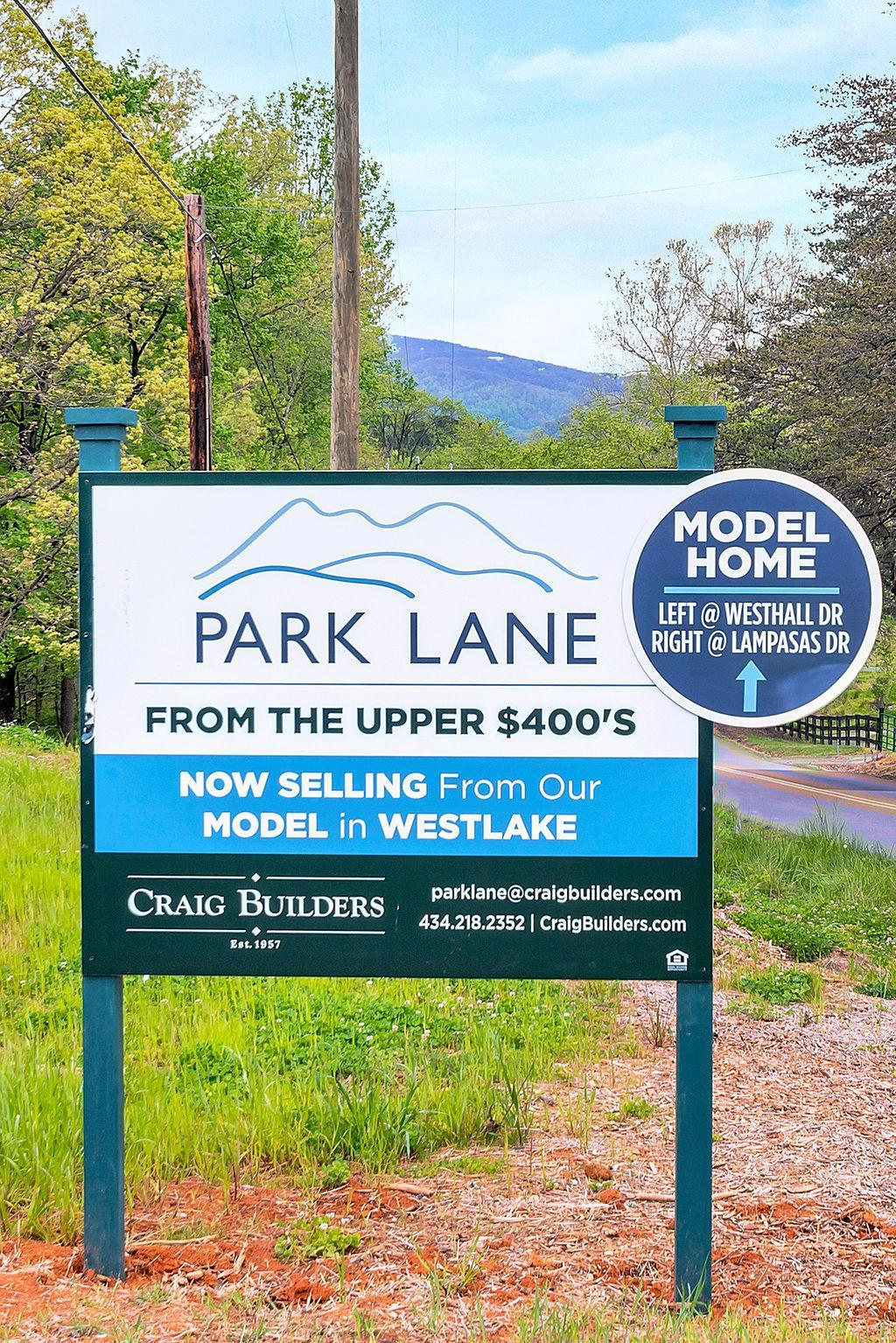 'Park Lane' by Craig Builders in Charlottesville