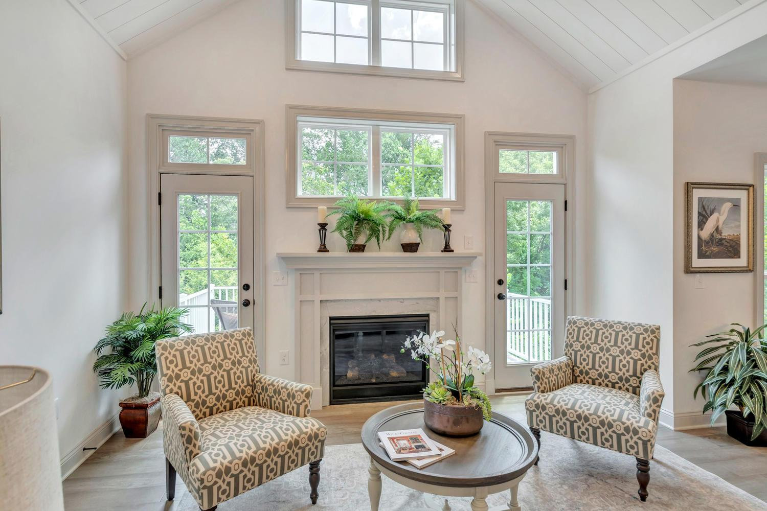 Living Area featured in The Pavilion By Craig Builders in Charlottesville, VA