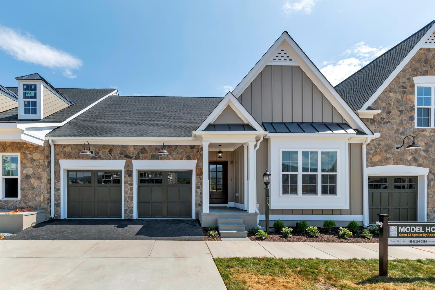 Exterior featured in the Old Trail Townes By Craig Builders in Charlottesville, VA