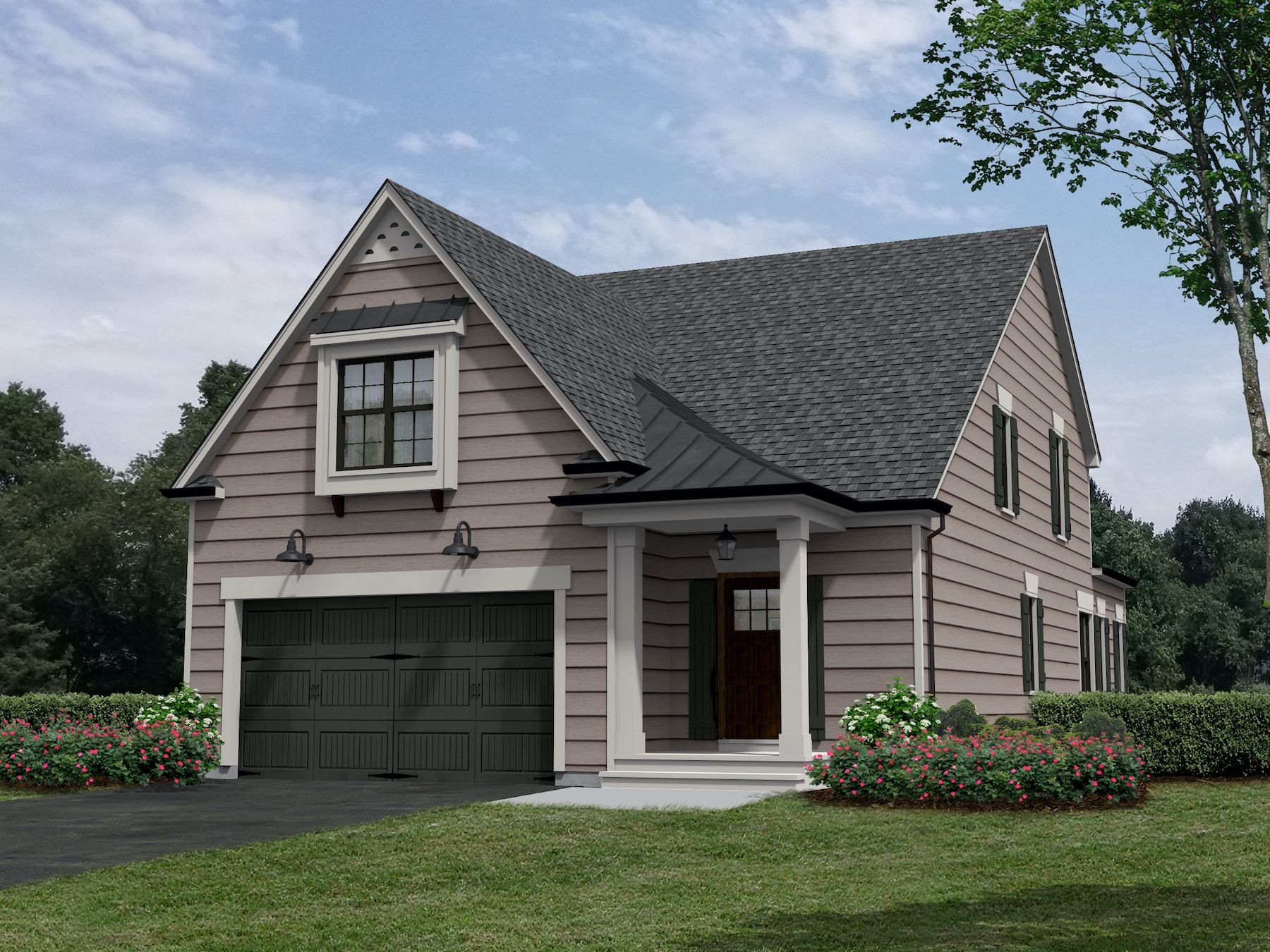 Exterior featured in the Afton By Craig Builders in Charlottesville, VA