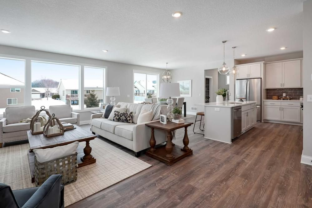 Living Area featured in the Aspen By Creative Homes in Minneapolis-St. Paul, WI
