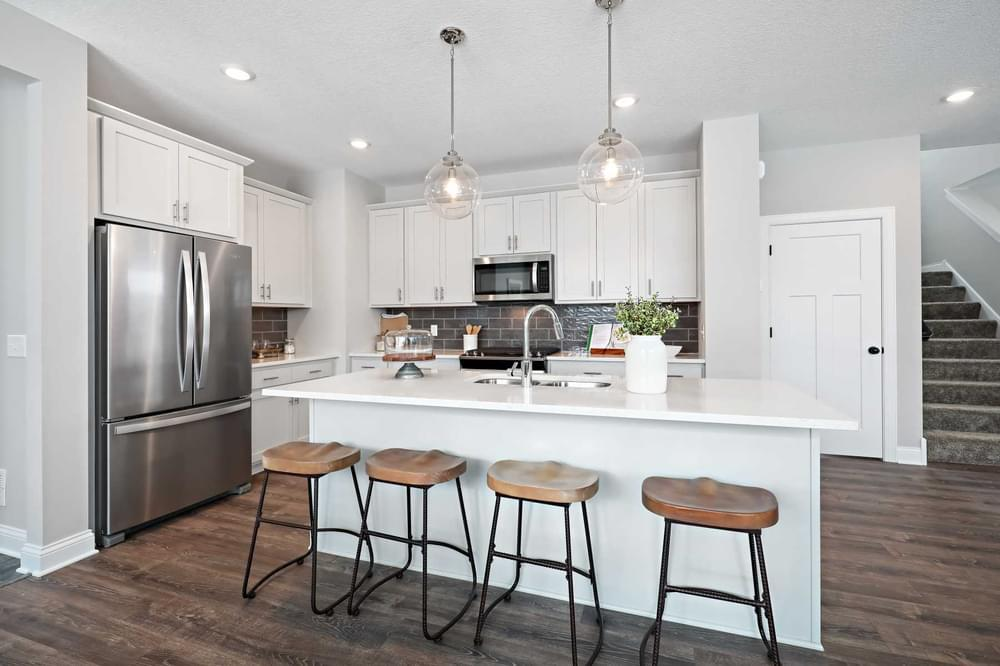 Kitchen featured in the Aspen By Creative Homes in Minneapolis-St. Paul, WI