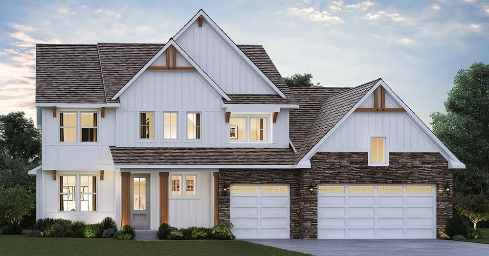 Exterior featured in the Bayfield By Creative Homes in Minneapolis-St. Paul, WI