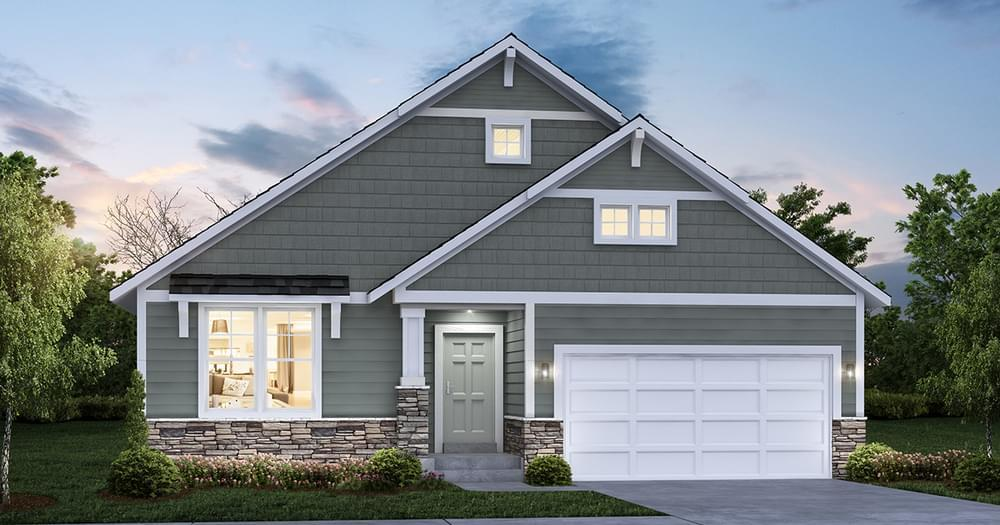 Exterior featured in the Lexington By Creative Homes in Minneapolis-St. Paul, WI