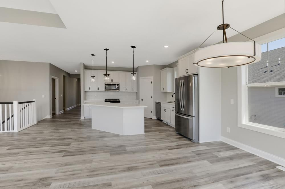 Kitchen featured in the Riley-Slab on Grade By Creative Homes in Minneapolis-St. Paul, MN