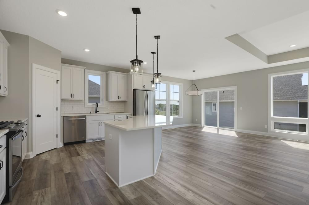 Kitchen featured in the Riley-Villa By Creative Homes in Minneapolis-St. Paul, MN