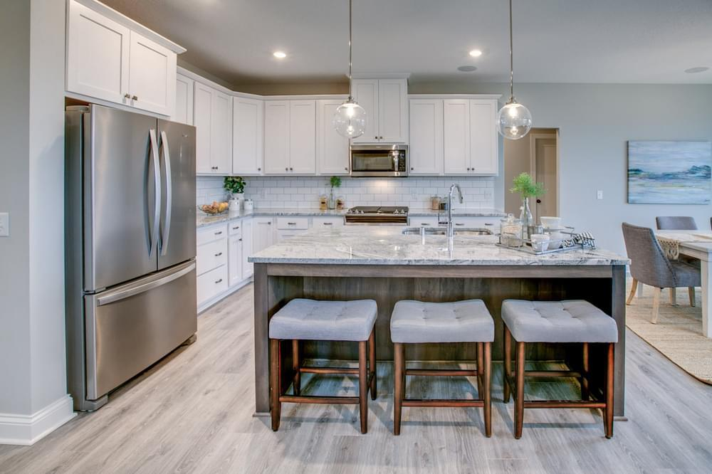 Kitchen featured in the Sutherland By Creative Homes in Minneapolis-St. Paul, MN