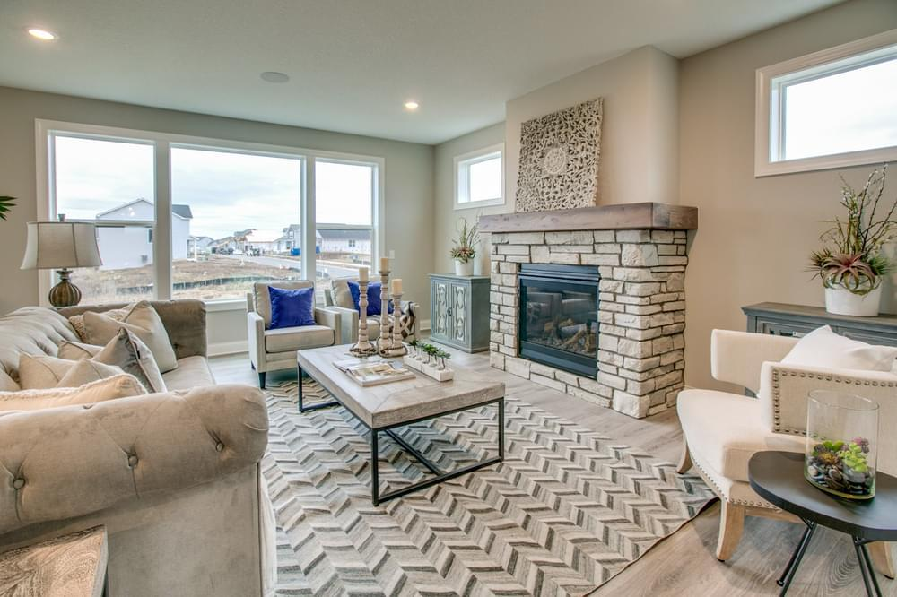 Living Area featured in the Sutherland By Creative Homes in Minneapolis-St. Paul, MN