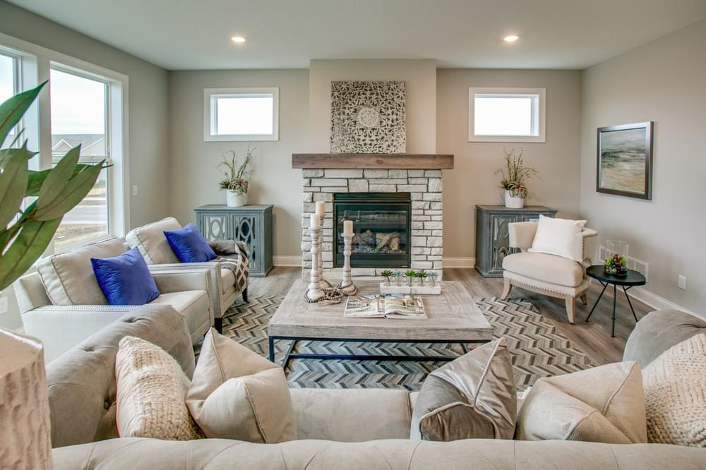 Living Area featured in the Sutherland By Creative Homes in Minneapolis-St. Paul, WI