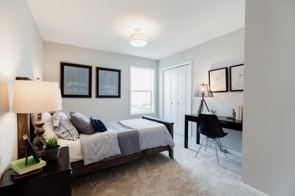 Bedroom featured in the Kendall By Creative Homes in Minneapolis-St. Paul, WI