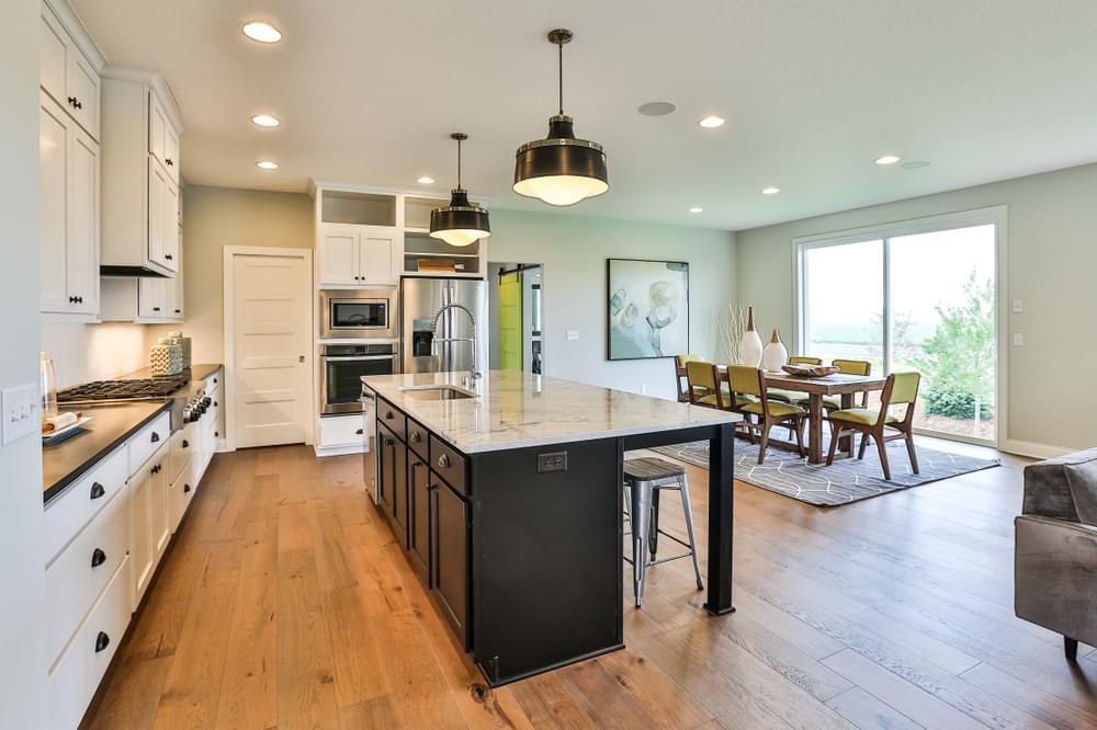 Kitchen featured in the Middleton By Creative Homes in Minneapolis-St. Paul, MN