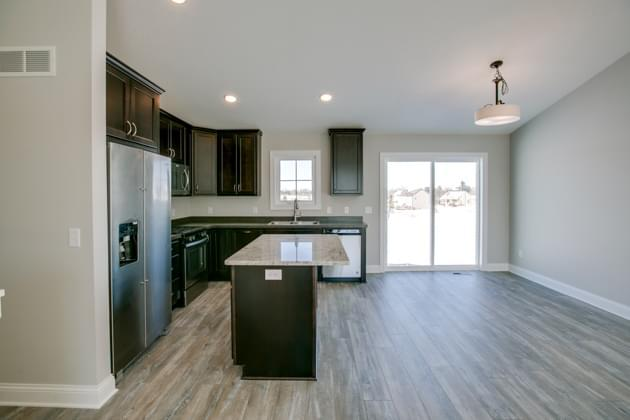 Kitchen featured in the Highview By Creative Homes in Minneapolis-St. Paul, WI