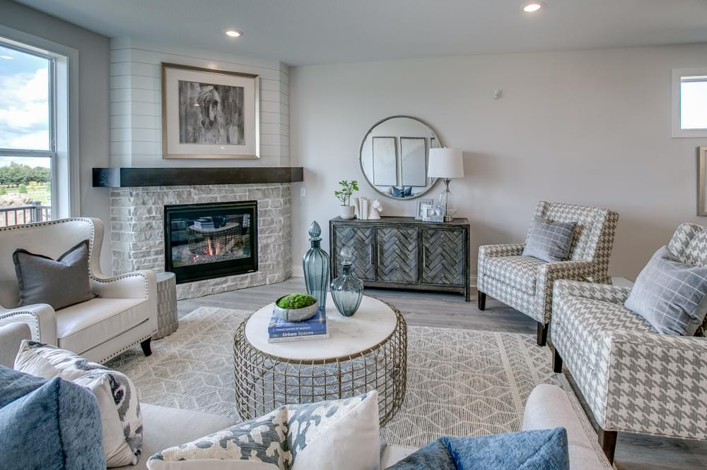 Living Area featured in the St. Martin- Slab on Grade By Creative Homes in Minneapolis-St. Paul, MN