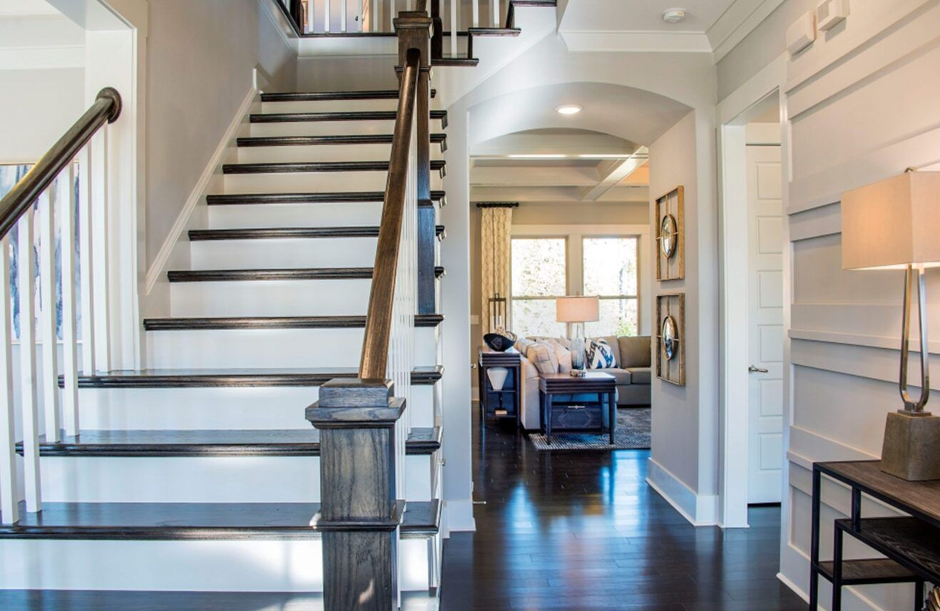 Living Area featured in The Hopewell at Paddlers Cove By Fielding Homes in Charlotte, SC