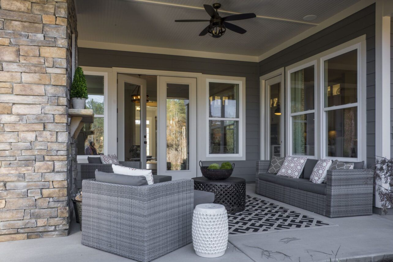 Exterior featured in The Forester at Paddlers Cove By Fielding Homes in Charlotte, SC