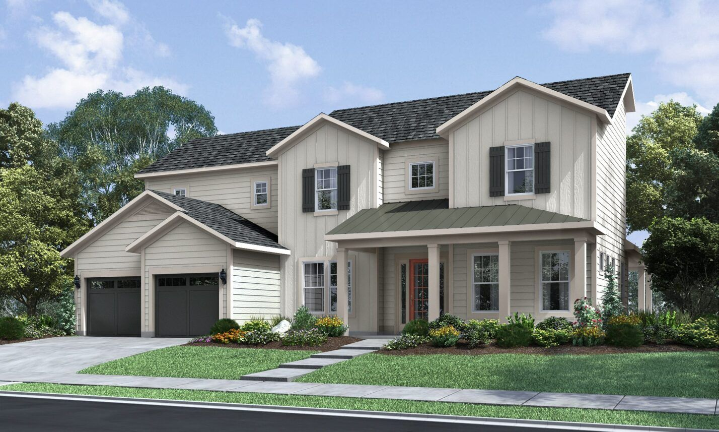 Exterior featured in The Harmony at Paddlers Cove By Fielding Homes in Charlotte, SC