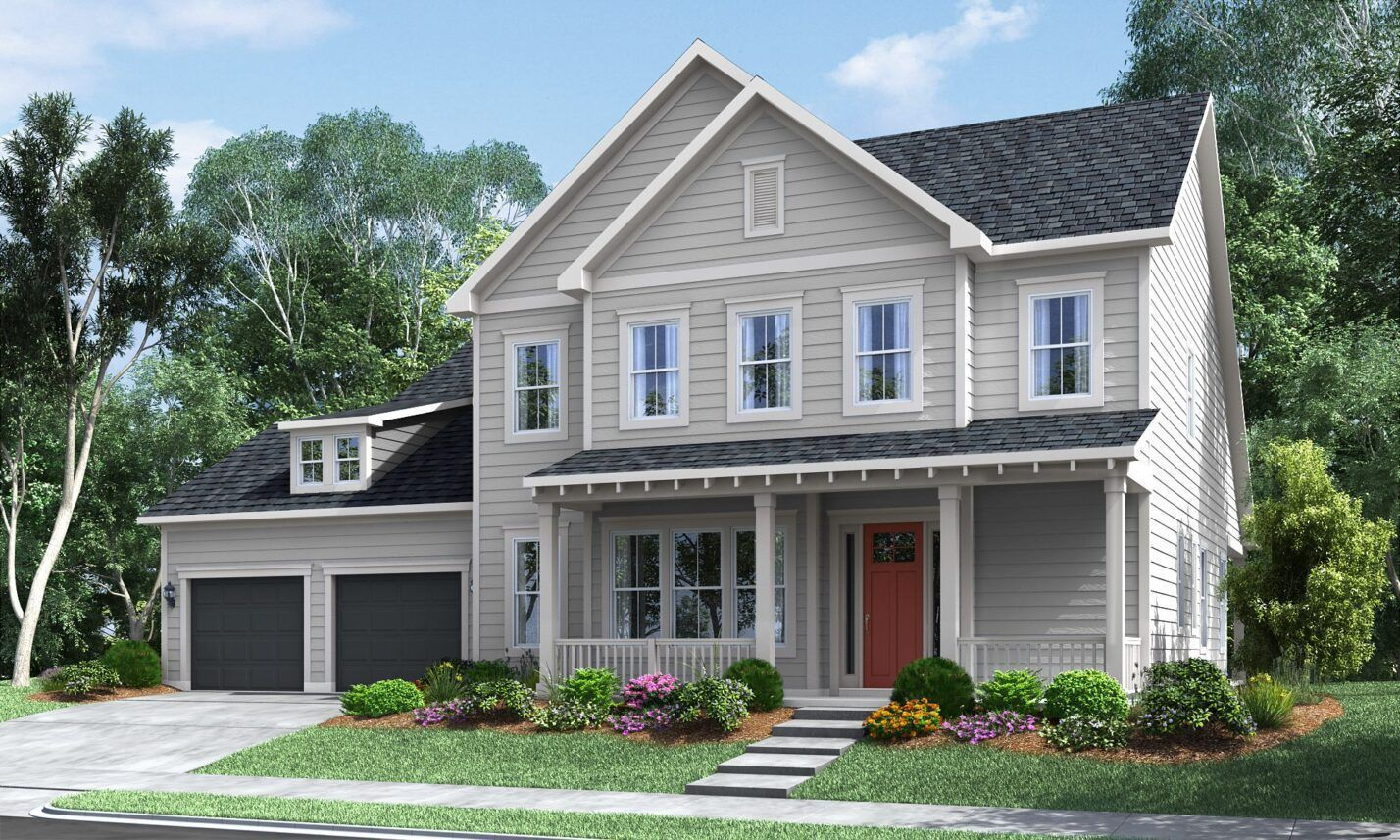 Exterior featured in The Forester at Masons Bend By Fielding Homes in Charlotte, SC