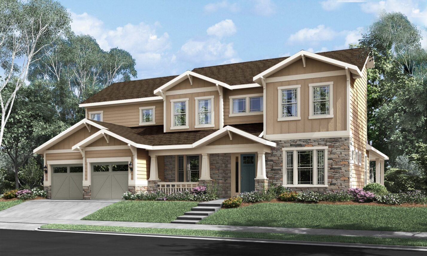 Exterior featured in The Harmony at Masons Bend By Fielding Homes in Charlotte, SC