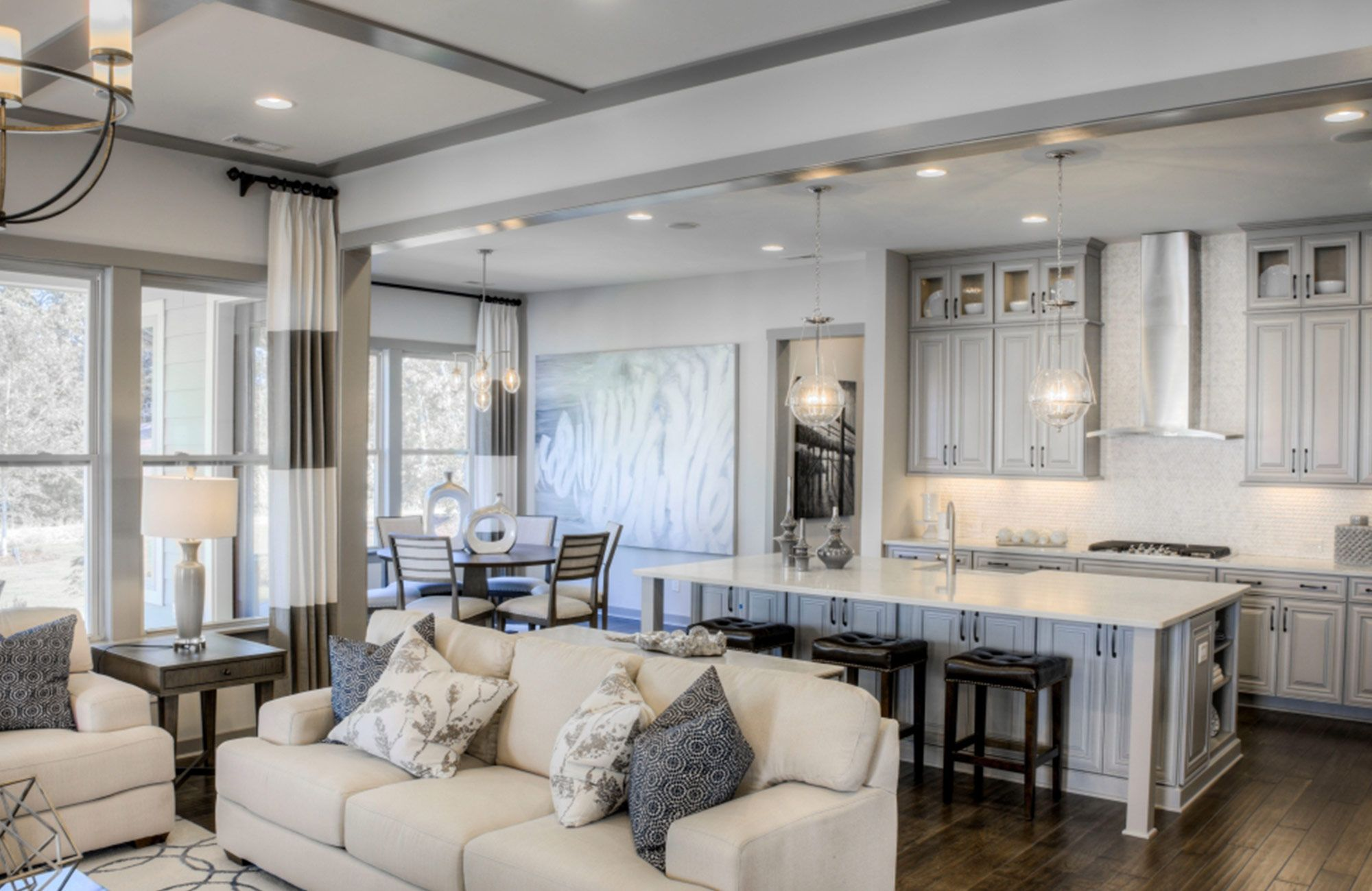 Living Area featured in The Harmony at Masons Bend By Fielding Homes in Charlotte, SC