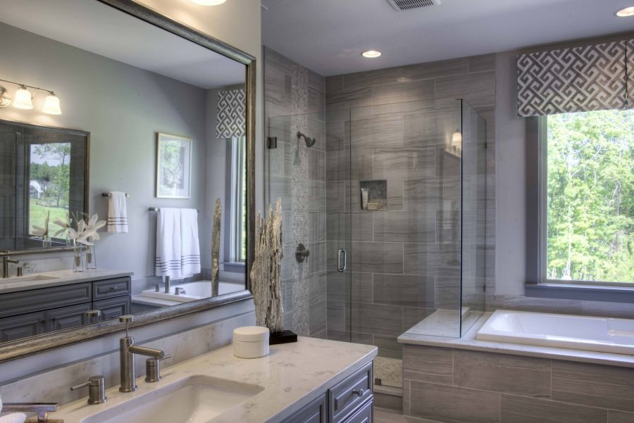 Bathroom featured in The Harmony at Masons Bend By Fielding Homes in Charlotte, SC