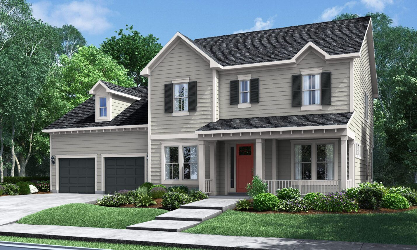Exterior featured in The Prosperity at Masons Bend By Fielding Homes in Charlotte, SC