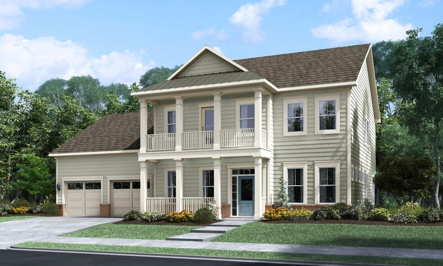 Exterior featured in The Prosperity By Fielding Homes in Raleigh-Durham-Chapel Hill, NC