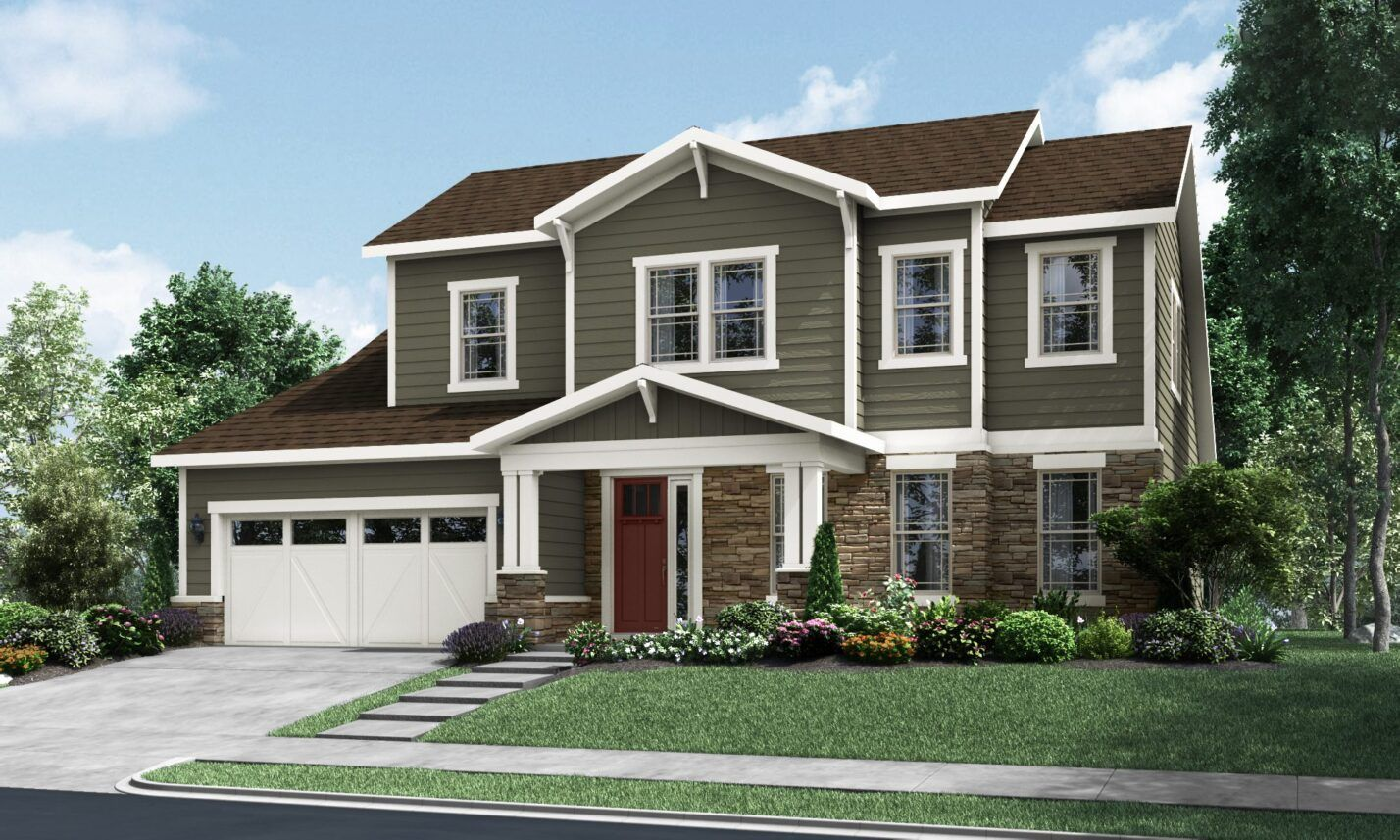Exterior featured in The Reverie By Fielding Homes in Greensboro-Winston-Salem-High Point, NC