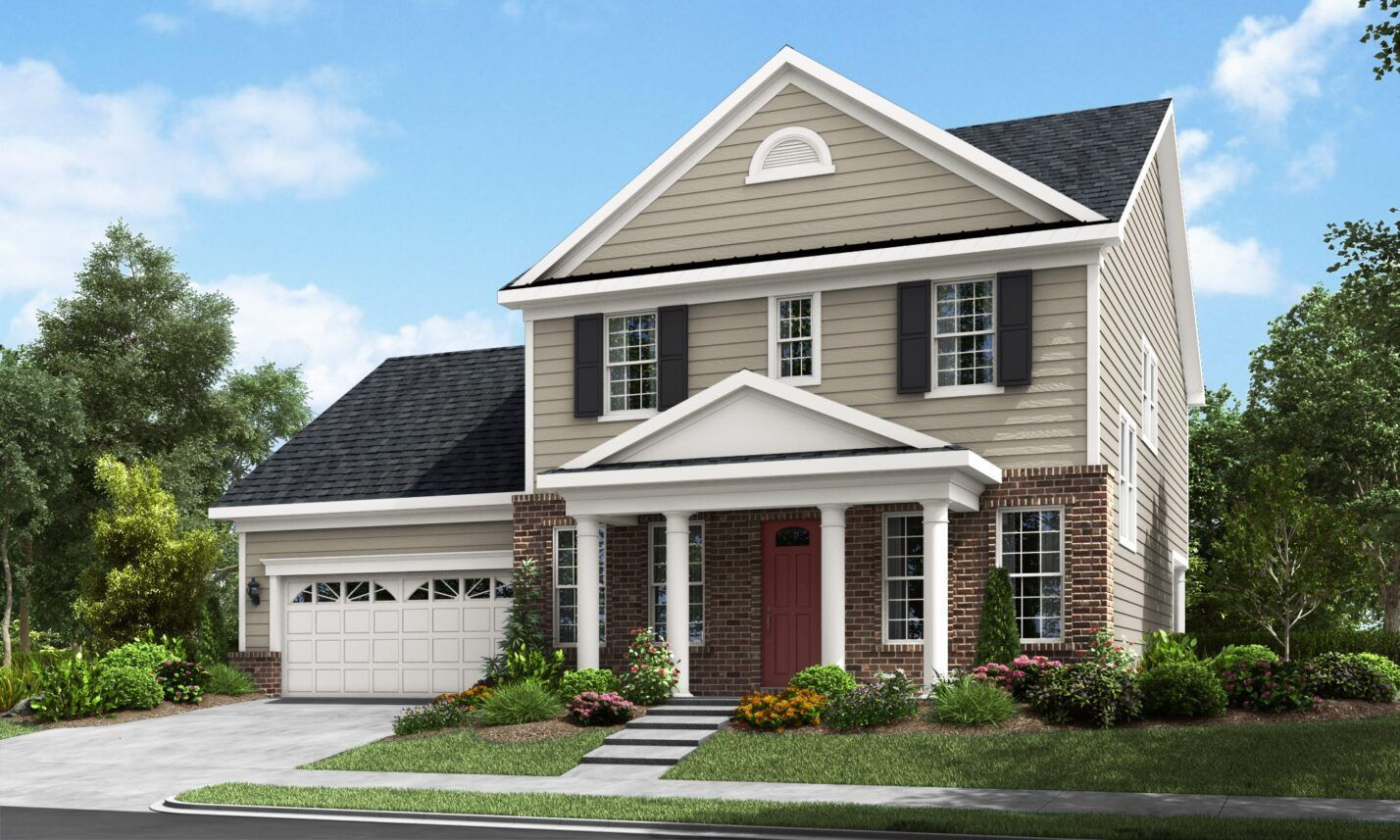 Exterior featured in The Affinity By Fielding Homes in Raleigh-Durham-Chapel Hill, NC