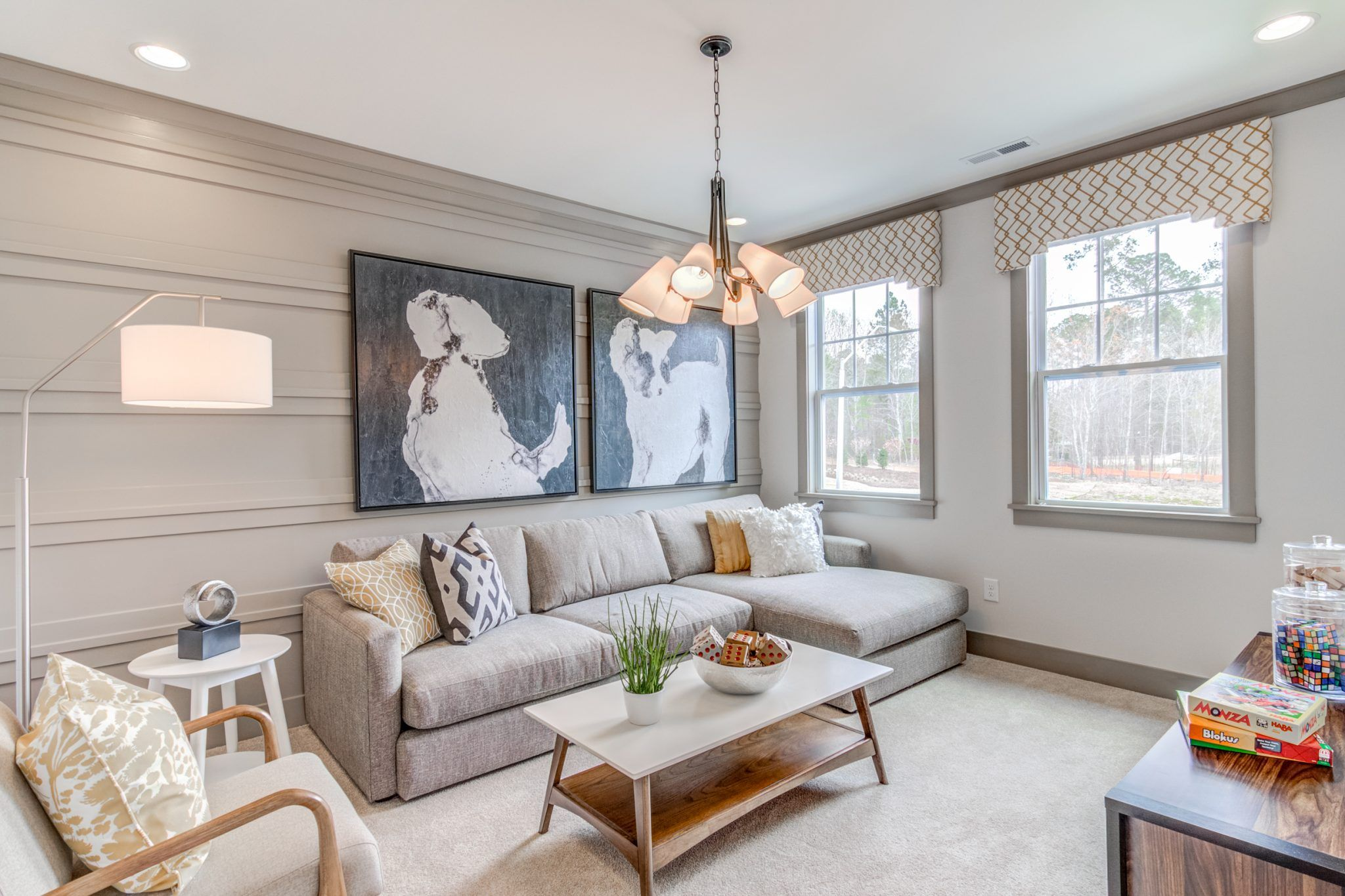 Living Area featured in The Aura By Fielding Homes in Raleigh-Durham-Chapel Hill, NC