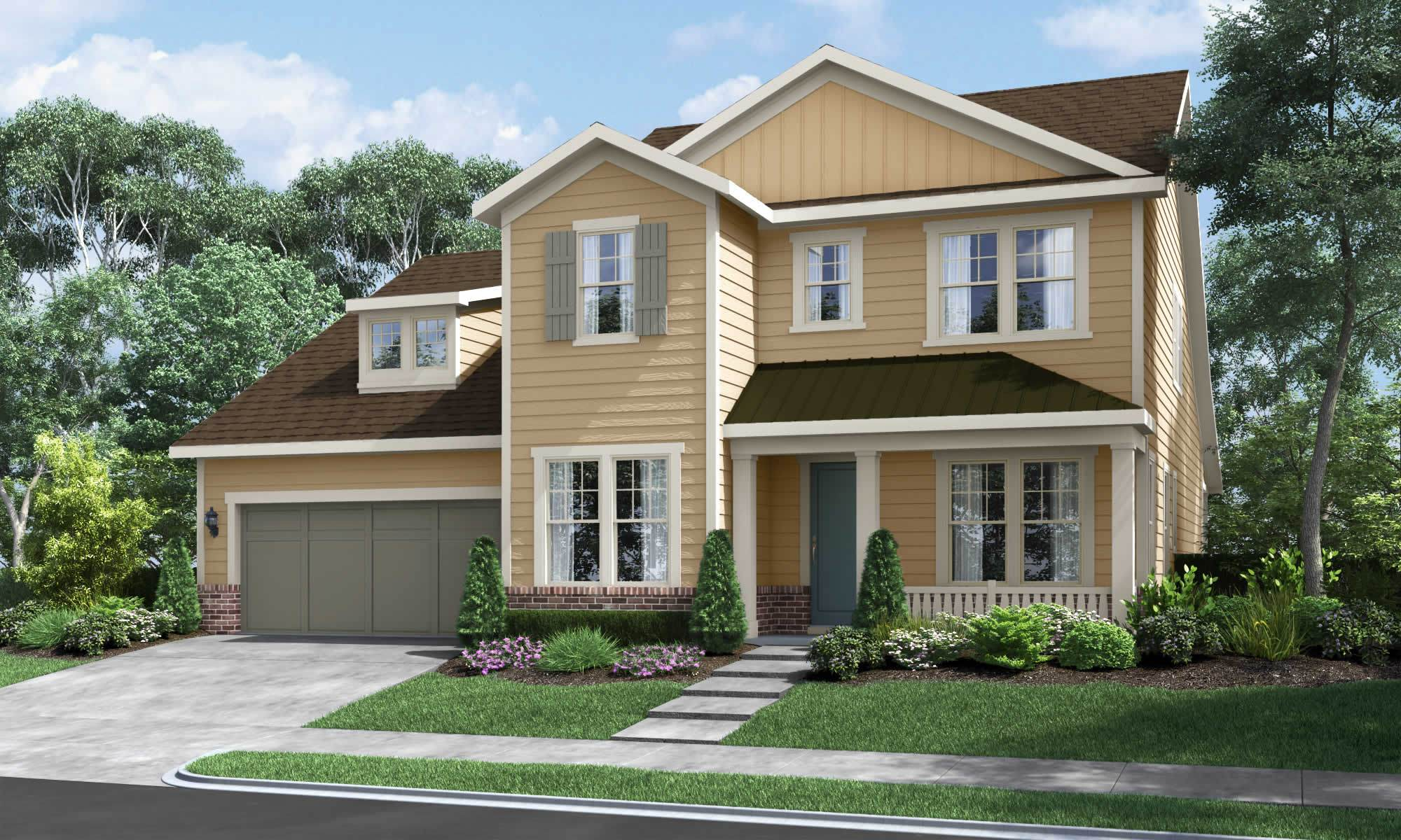 Exterior featured in The Cadence By Fielding Homes in Raleigh-Durham-Chapel Hill, NC