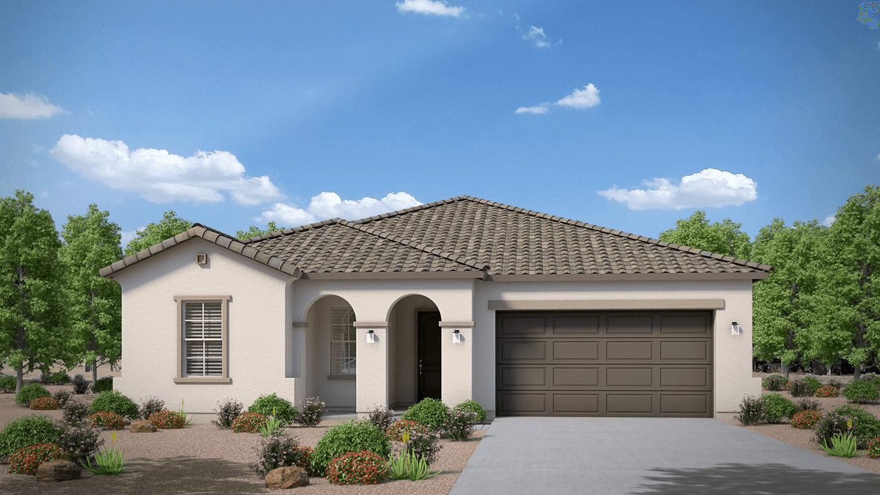 Exterior featured in the Brookside By Cresleigh Homes Arizona, Inc. in Phoenix-Mesa, AZ