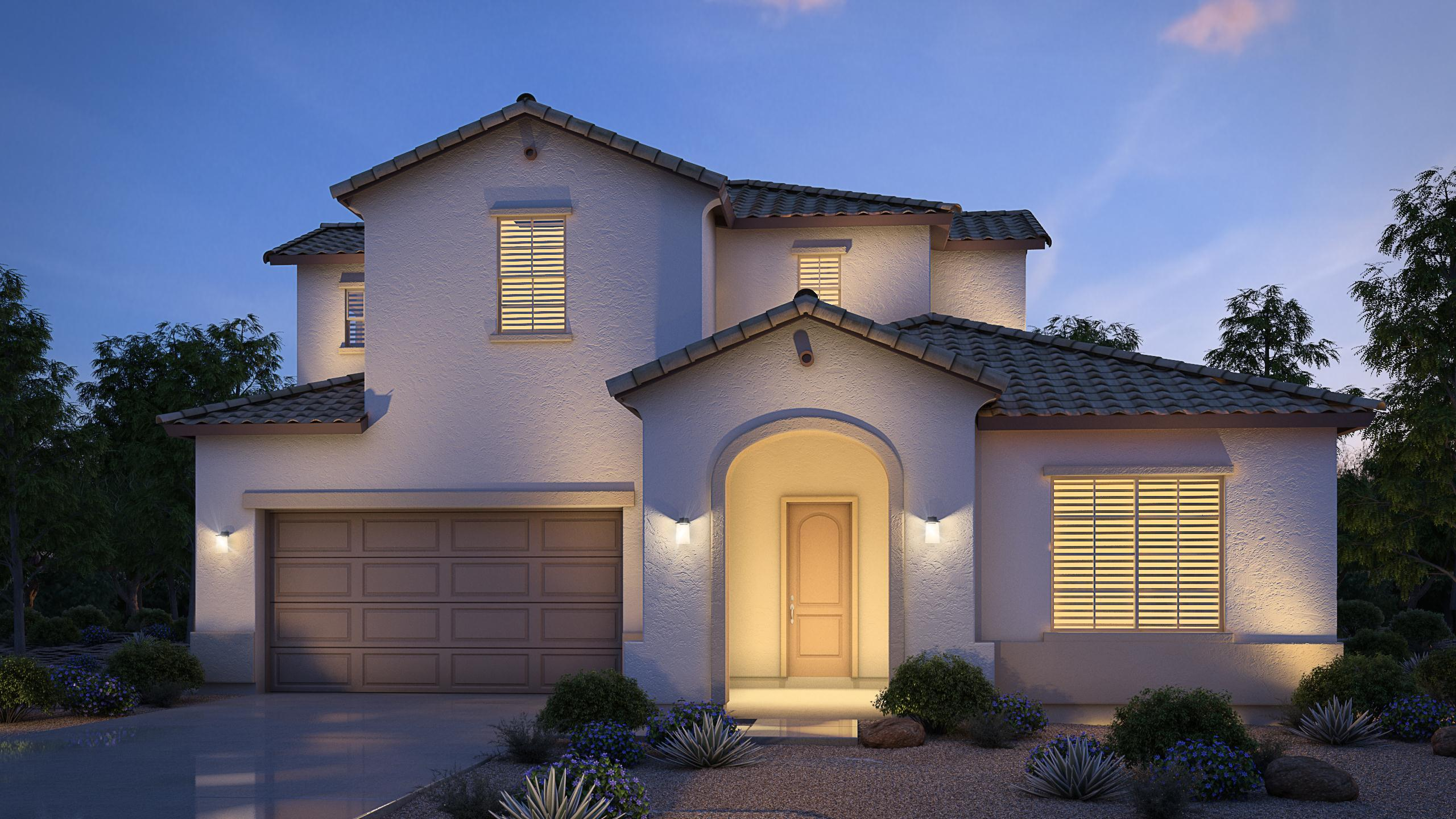 Exterior featured in the Mohave By Cresleigh Homes Arizona, Inc. in Phoenix-Mesa, AZ