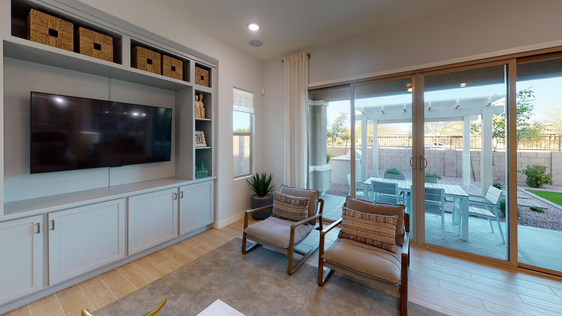 Living Area featured in the Brookside By Cresleigh Homes Arizona, Inc. in Phoenix-Mesa, AZ