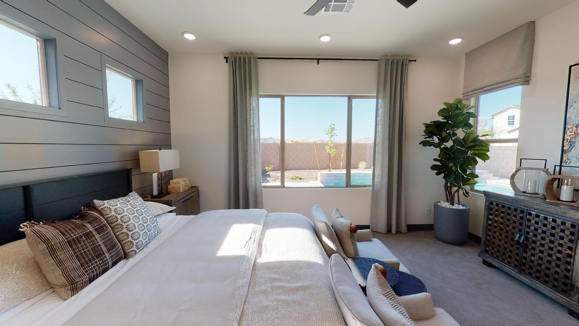 Bedroom featured in the Whetstone By Cresleigh Homes Arizona, Inc. in Phoenix-Mesa, AZ