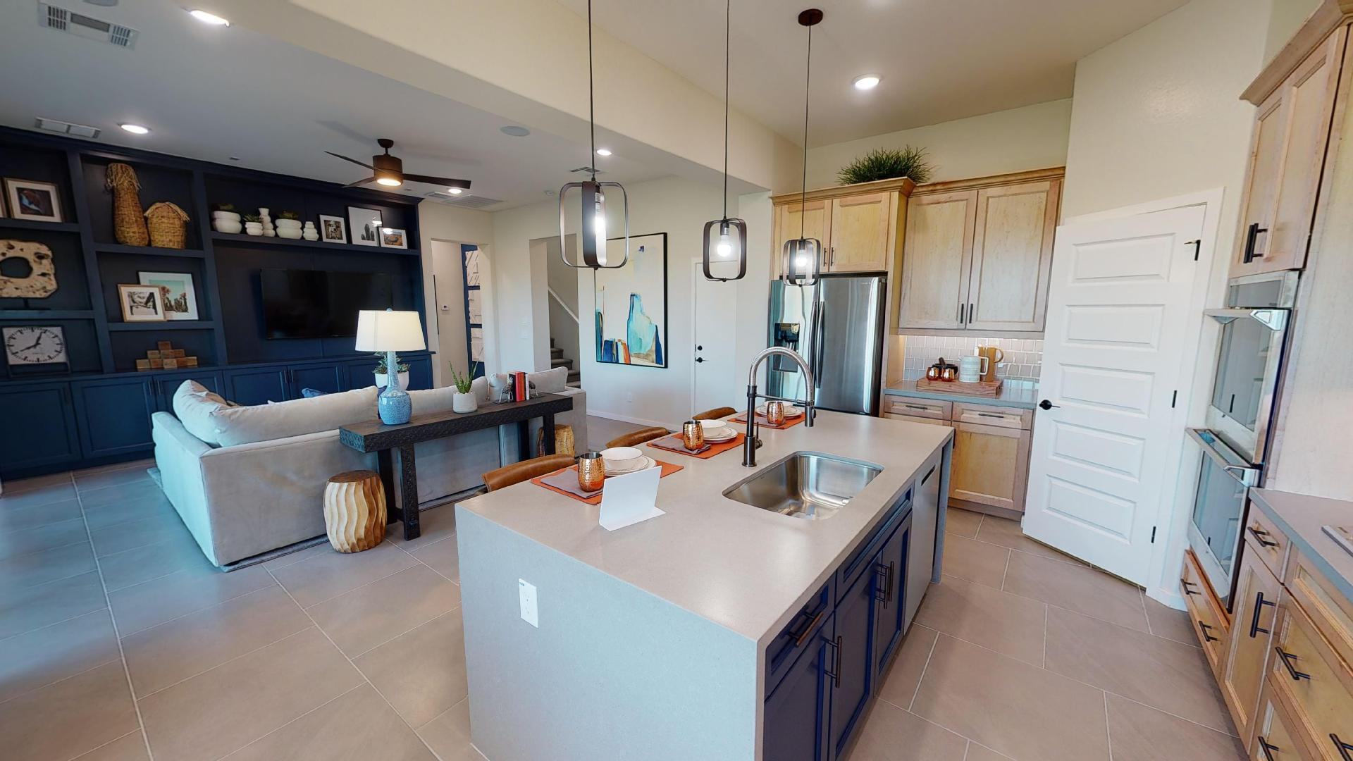 Kitchen featured in the Mohave By Cresleigh Homes Arizona, Inc. in Phoenix-Mesa, AZ