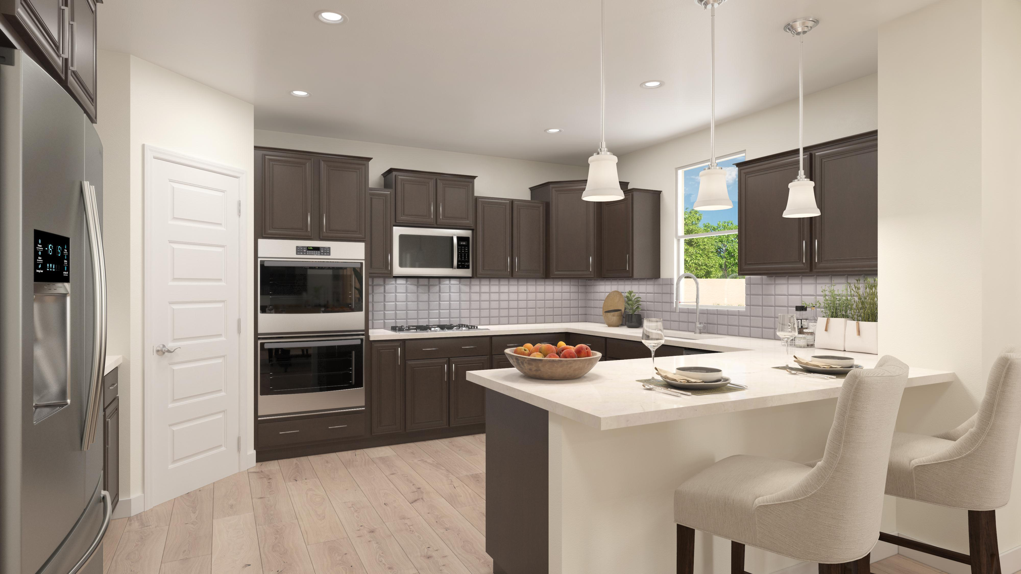 Kitchen featured in the Providence By Cresleigh Homes Arizona, Inc. in Phoenix-Mesa, AZ