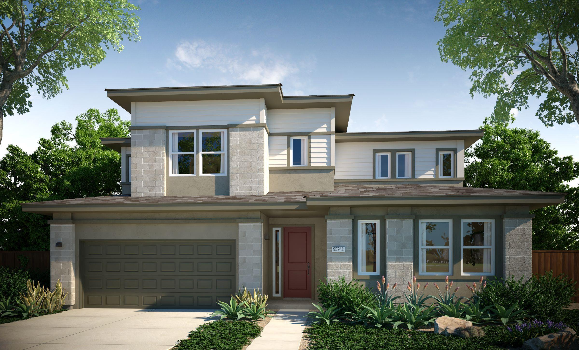 Exterior featured in the Residence 3 By Cresleigh Homes in Sacramento, CA