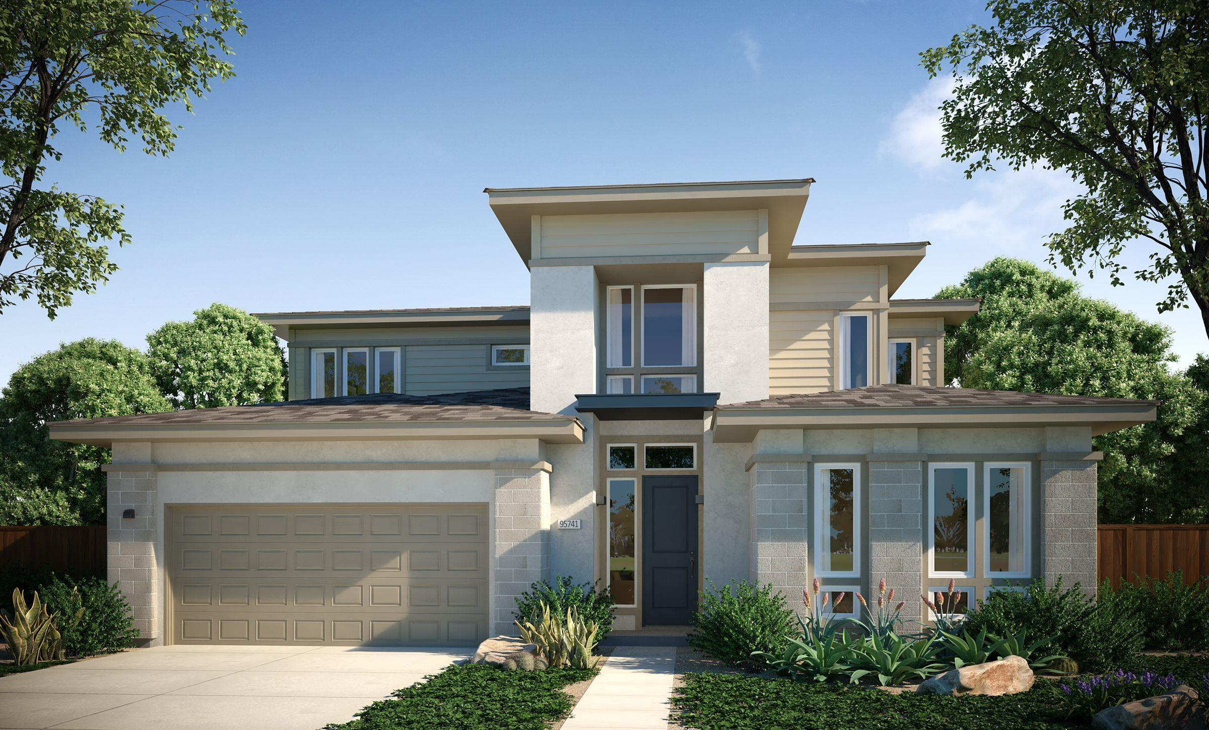 Exterior featured in the Residence 4 By Cresleigh Homes in Sacramento, CA
