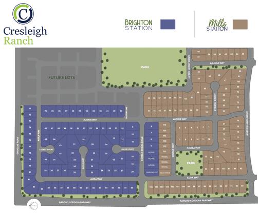 Cresleigh Ranch Site Map:Cresleigh Ranch Site Map