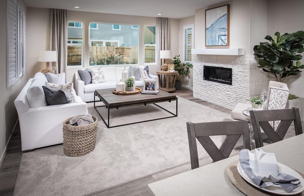 Living Area featured in the Residence 3 By Cresleigh Homes in Sacramento, CA