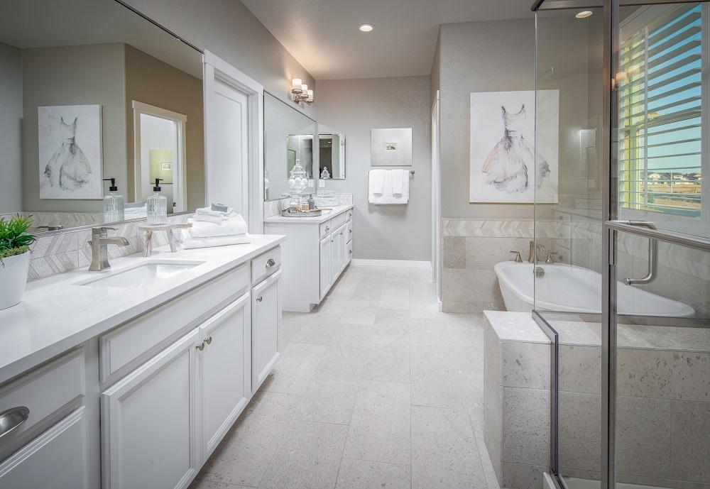 Bathroom featured in the Residence 3 By Cresleigh Homes in Sacramento, CA