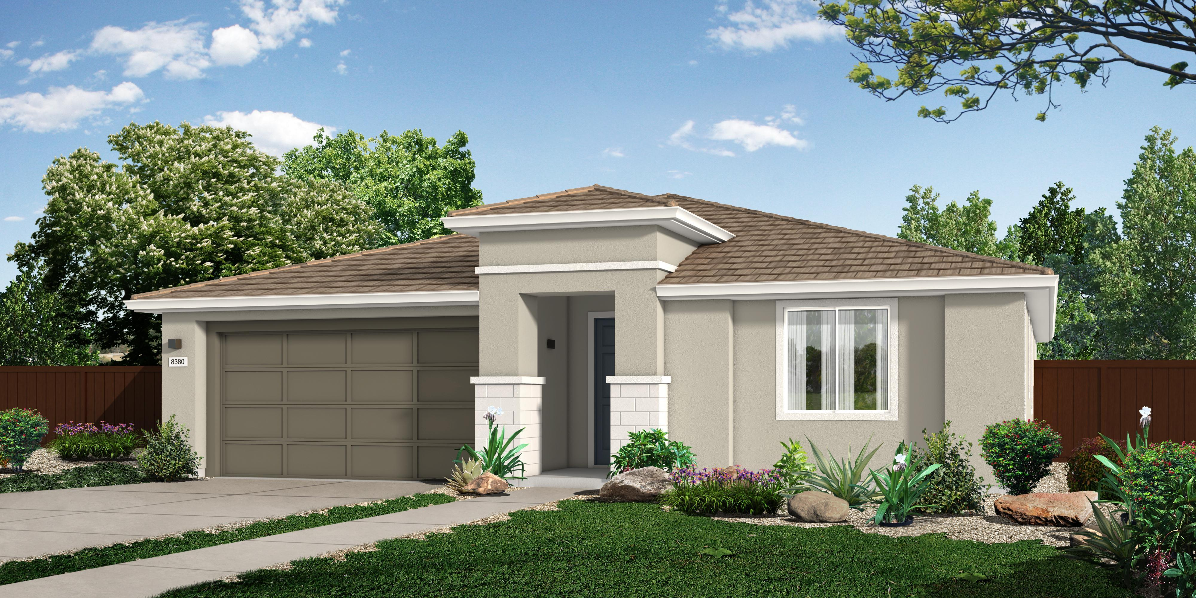 Exterior featured in the M_Residence 1 By Cresleigh Homes in Sacramento, CA
