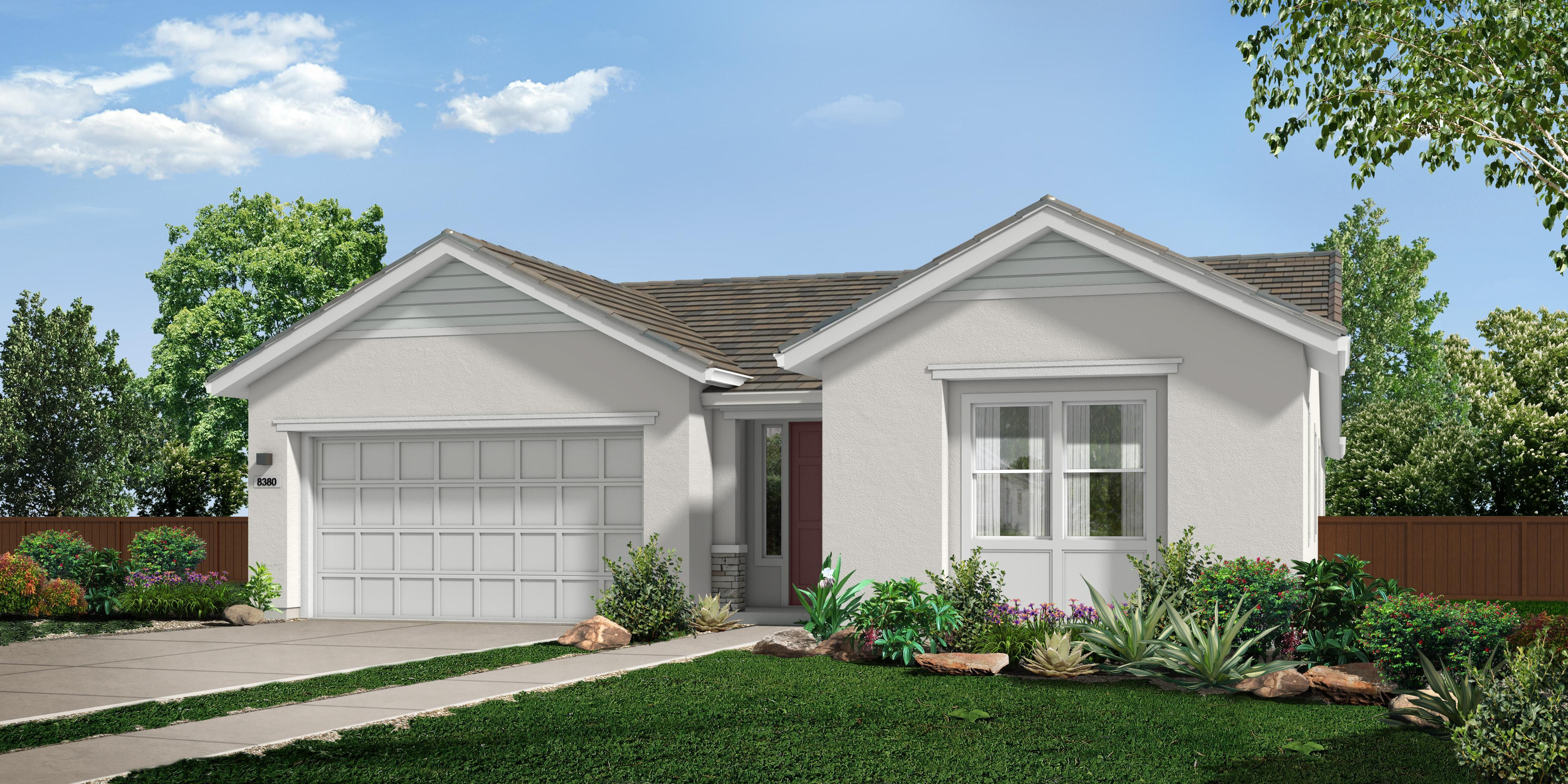 Exterior featured in the M_Residence 3 By Cresleigh Homes in Sacramento, CA