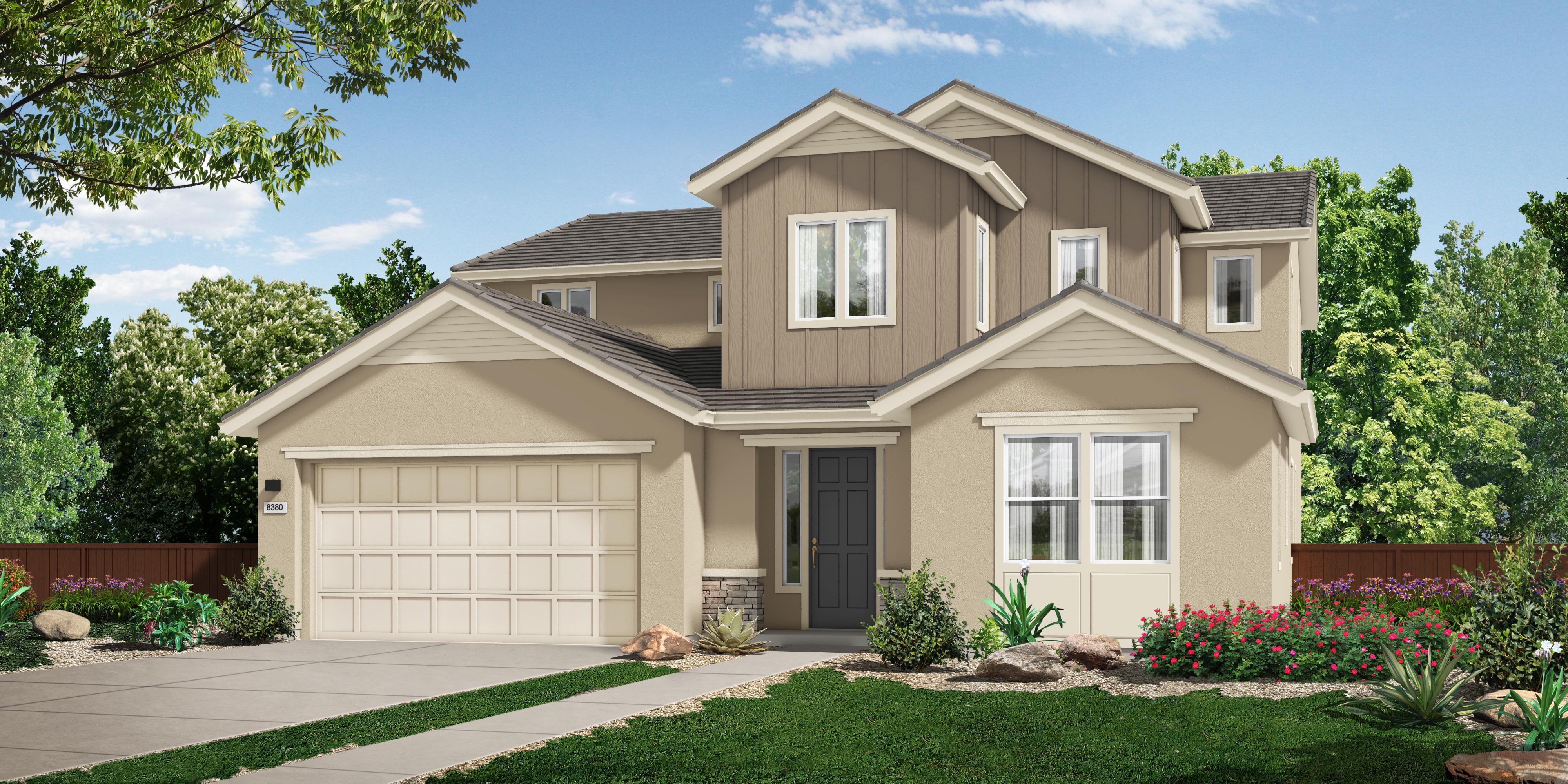 Exterior featured in the M_Residence 4 By Cresleigh Homes in Sacramento, CA