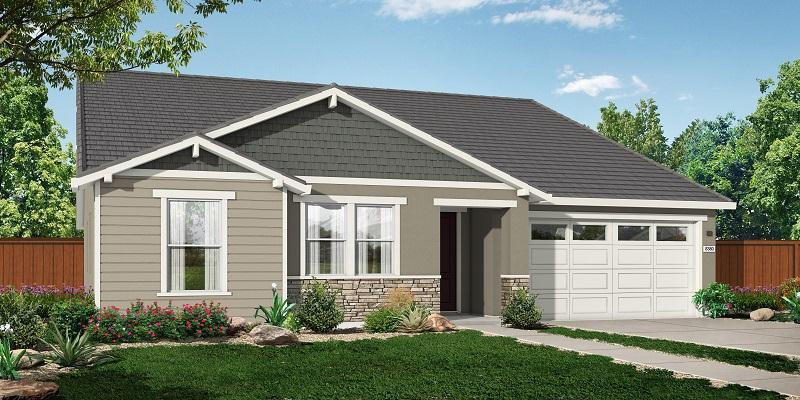 Exterior featured in the R_Residence 3 By Cresleigh Homes in Sacramento, CA