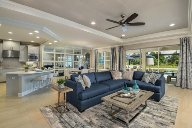 Living Area featured in the Abaco by Taylor Morrison By Crown Community Development