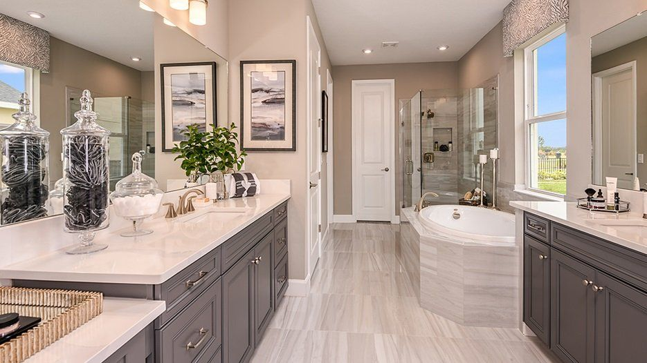 Bathroom featured in the Bimini - Taylor Morrison By Crown Community Development