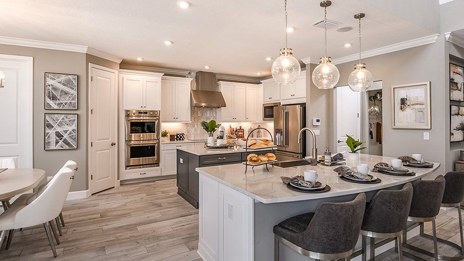 Kitchen featured in the Bimini - Taylor Morrison By Crown Community Development